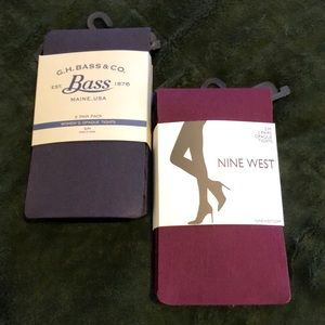 NINE WEST / G.H. BASS OPAQUE TIGHTS